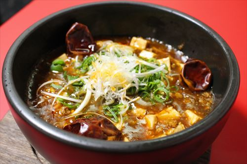 写真:熱々激辛四川風マーボー豆腐