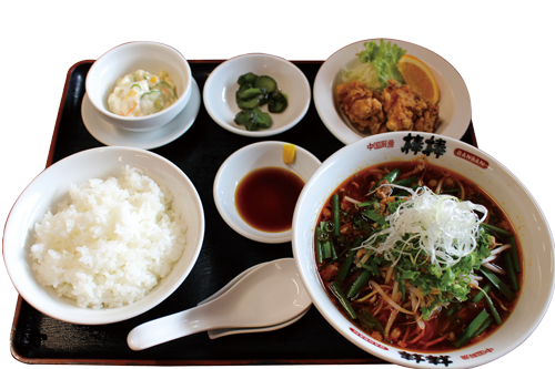 写真:台湾ラーメン定食