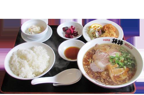 写真:ラーメン定食