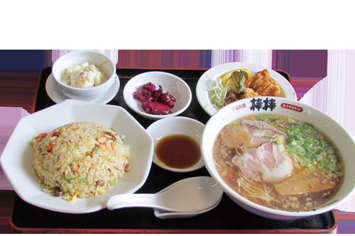 写真:中華定食